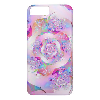 First Rose Fine Fractal Art iPhone 8 Plus/7 Plus Case