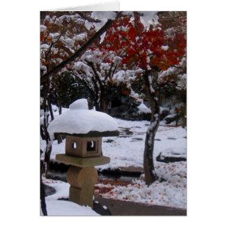 First Snow Card