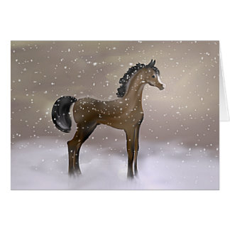 """First Snow"" ~ Greeting Card"