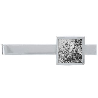 First snow Tie Bar Silver Finish Tie Clip