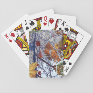 First Snow Winter Camouflage Style Playing Cards