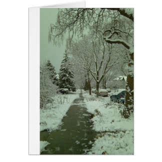 First Snowfall Card