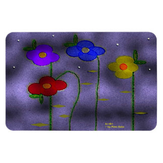 """""""First Snowflakes"""" 4 x 6 Flexible Magnet"""