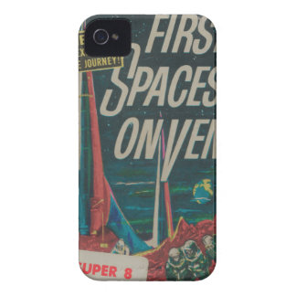 First Spaceship on Venus Vintage Scifi Film Case-Mate iPhone 4 Case