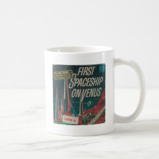 First Spaceship on Venus Vintage Scifi Film Coffee Mug