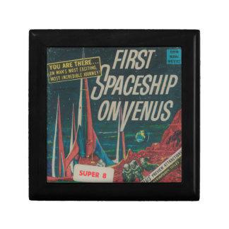First Spaceship on Venus Vintage Scifi Film Gift Box
