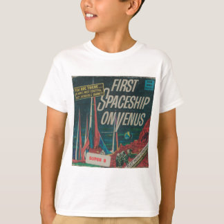 First Spaceship on Venus Vintage Scifi Film T-Shirt