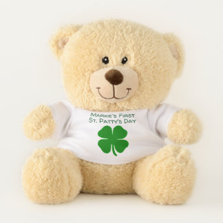 First St Patrick's Bear