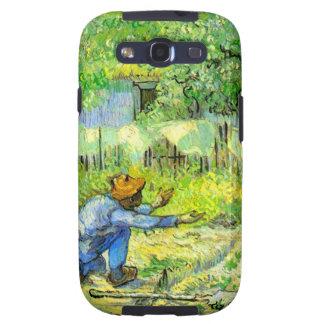 First steps, 1890 Vincent van Gogh. Samsung Galaxy S3 Cases