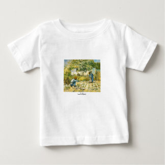 First Steps by Vincent van Gogh 1890 Baby T-Shirt