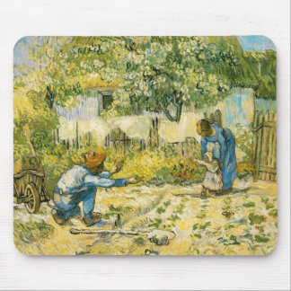 First Steps by Vincent van Gogh 1890 Mouse Pad