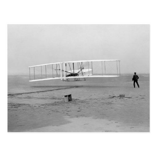 First Successful Flight of the Wright Flyer Post Card