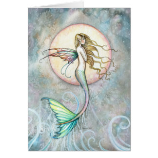 First Taste of Sky Leaping Mermaid Card