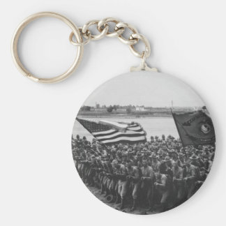 First to Fight - US Marines - 1918 Keychains