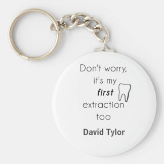 First Tooth Extraction! Keychain