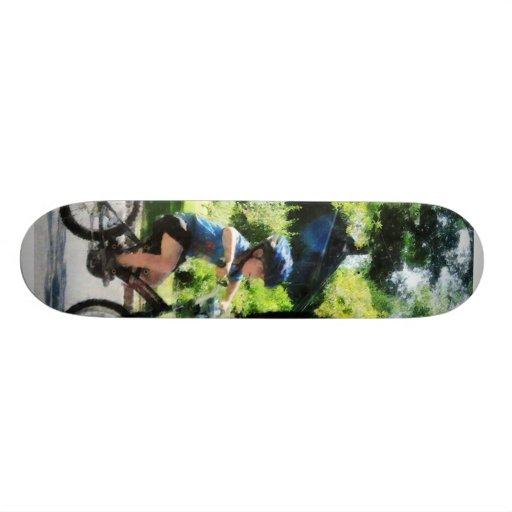 First Two Wheeler Skate Board Decks