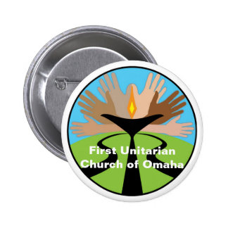 First Unitarian Church of Omaha 2 Inch Round Button