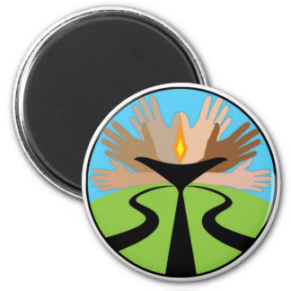 First Unitarian Church of Omaha 2 Inch Round Magnet