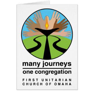 First Unitarian Church of Omaha Greeting Card
