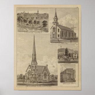 First Universalisty Church, Minneapolis, Minnesota Poster