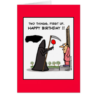 First Up, Happy Birthday !! Card