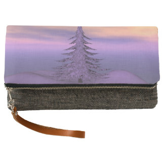 firtree and snow clutch