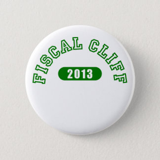 Fiscal Cliff Commemorative Goods 2 Inch Round Button