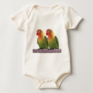 Fischer's Lovebird Baby Bodysuit