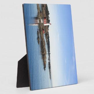 Fisgard lighthouse plaque