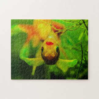 Fish 01 Digital Art - Photo Puzzle