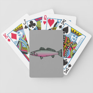 Fish 2 bicycle playing cards