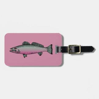 Fish 2 luggage tag
