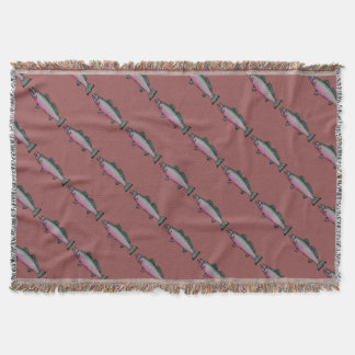 Fish 2 throw blanket