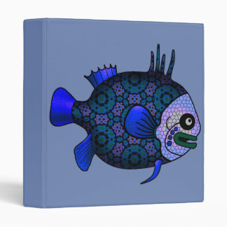 FISH 3 RING BINDER