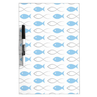 Fish a background3 dry erase board
