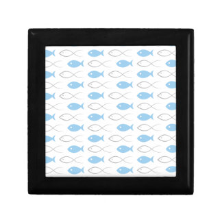 Fish a background3 gift box