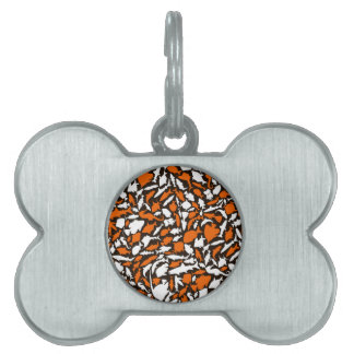 Fish a background pet name tags