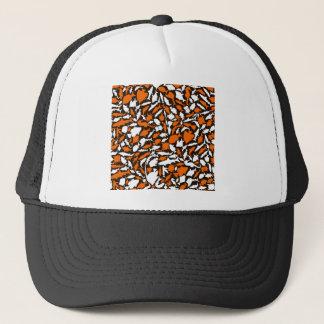 Fish a background trucker hat