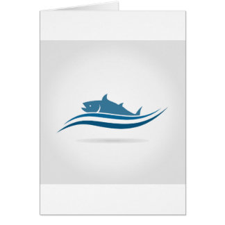 Fish an icon2 card