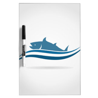 Fish an icon2 dry erase board