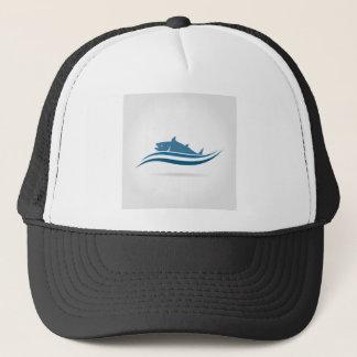 Fish an icon2 trucker hat