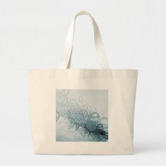 Fish And Bones Large Tote Bag