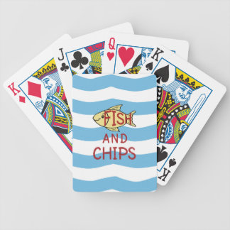 Fish and Chips 2 Bicycle Playing Cards