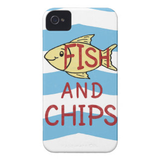 Fish and Chips 2 iPhone 4 Case