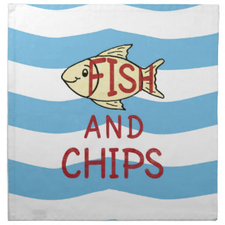 Fish and Chips 2 Napkin