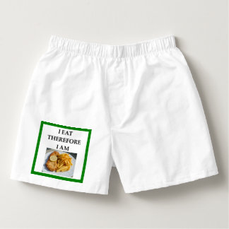 fish and chips boxers