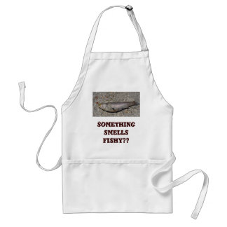 Fish Apron: Something smells fishy?? Standard Apron