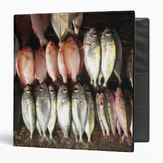 Fish at market, town of Kalabahi, Alor Island, 2 3 Ring Binder
