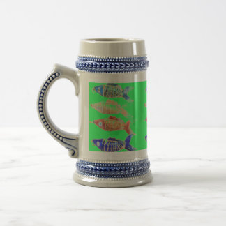 Fish beer cup