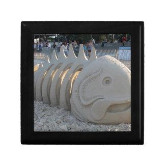 Fish Bone Jewelry Box